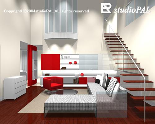 室内パース 三菱地所モデルルーム