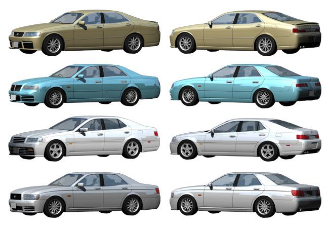 当店オリジナルの自動車モデリング画像